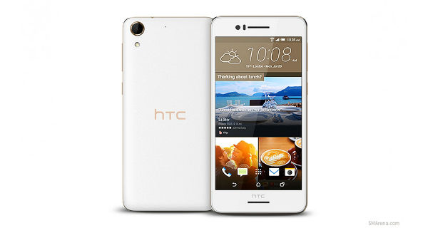 HTC Desire 728 Front and Back