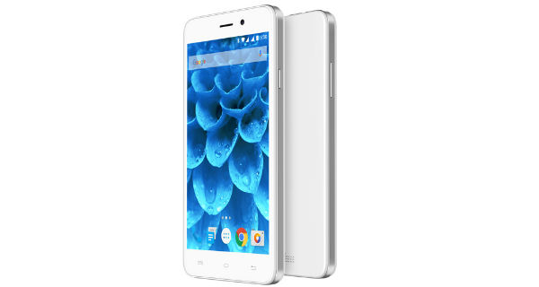 Lava Iris Atom 3 Front and Back