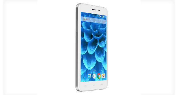 Lava Iris Atom 3 Side View