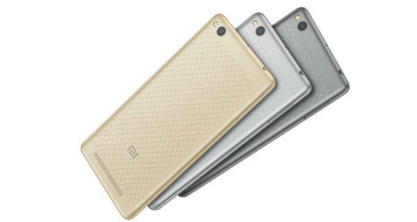 Xiaomi Redmi 3 Back View