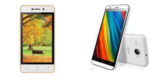 Intex Aqua 4G Strong and Cloud Force