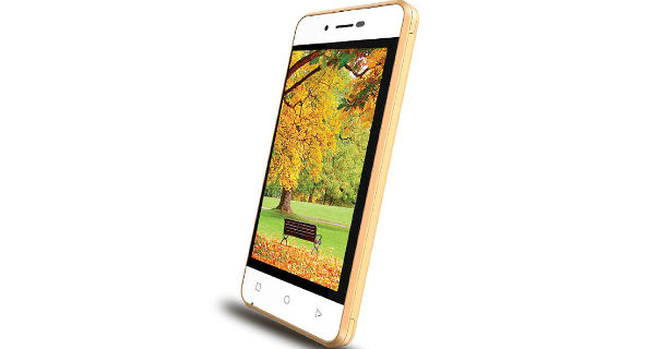 Intex Aqua 4G Strong Side View