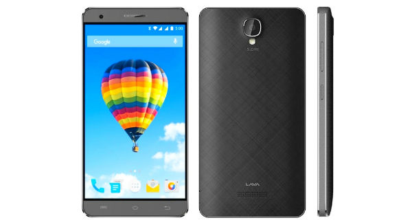 Lava Iris Fuel F2 with 3000mah battery, 5 inch display is listed online for Rs. 4444