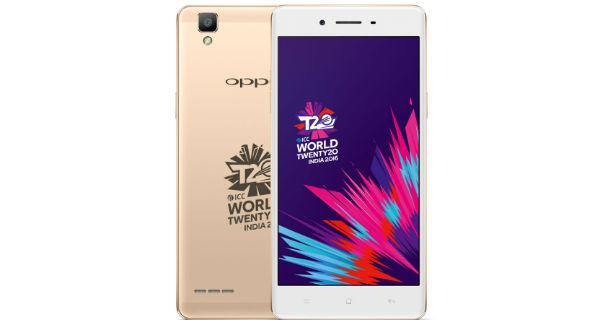Oppo launches F1 ICC WT20 limited edition for Rs. 17990