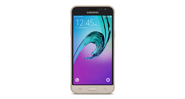 Samsung Galaxy J3 2016 Front