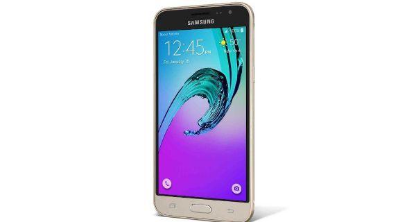 Samsung Galaxy J3 2016 Side View