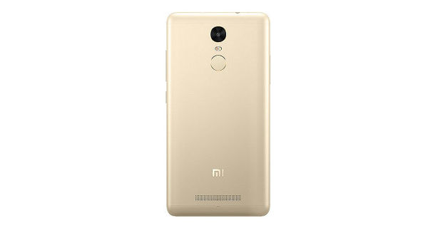 Xiaomi Redmi Note 3 Back