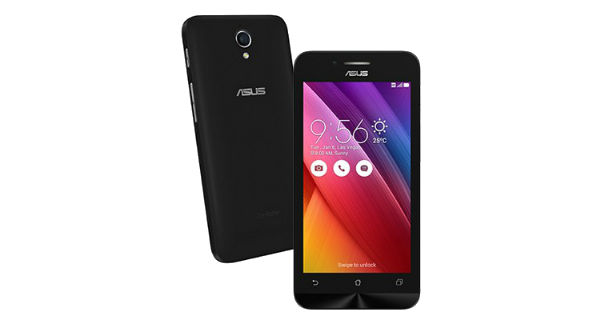Asus Zenfone Go 4.5 2nd gen Front and Back