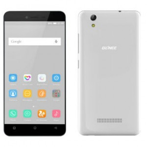 Gionee Pioneer P5L Front and Back