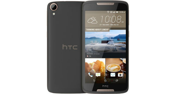 HTC Desire 828 Dual SIM Front and Back