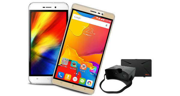 Karbonn Quattro L52 and Titanium Mach Six With VR Headsets