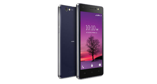 Lava A72 Front and Back