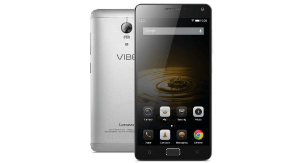 Lenovo Vibe P1 Turbo Front and Back