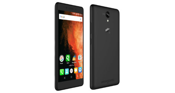 Micromax Canvas 6 Pro Front and Back