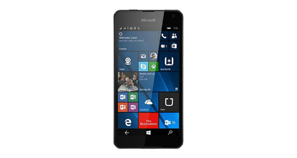 Microsoft Lumia 650 Dual Sim Front