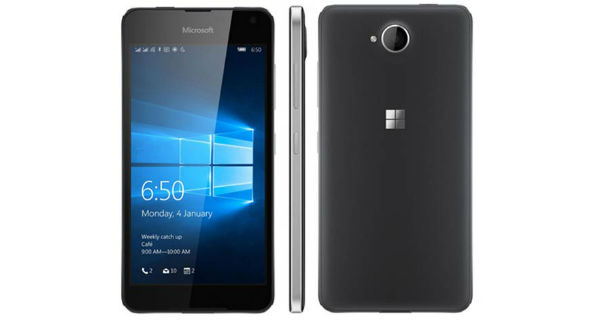 Microsoft Lumia 650 Dual Sim Overall