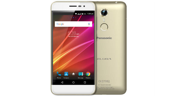 Panasonic Eluga Arc Front and Back