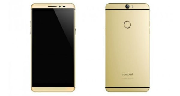Coolpad Max Front and Back