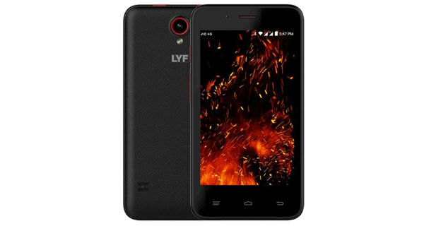 LYF Flame 4 View