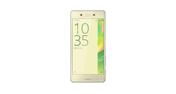Sony Xperia X Front