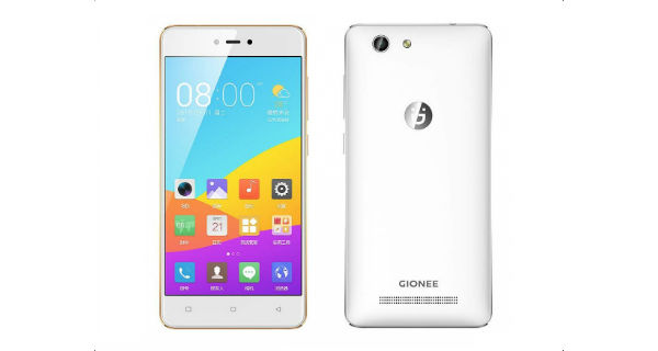 Gionee F103 Front and Back