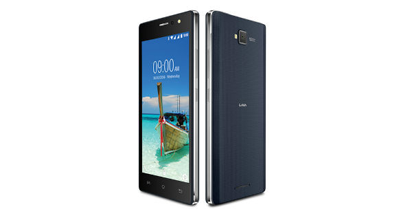 Lava A82 Front and Back