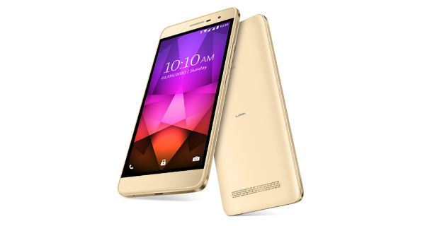 Lava X46 Front and Back