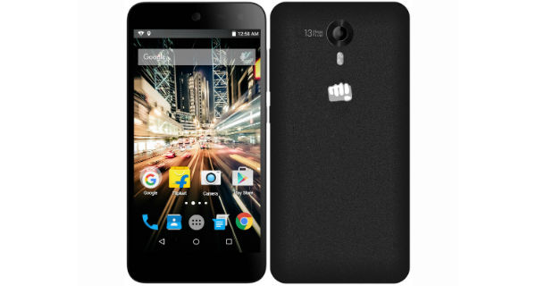 Micromax Canvas Amaze 2 Launched – Price, Specifications and Features