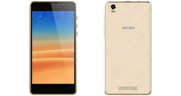 Intex Aqua Power 4G Front and Back