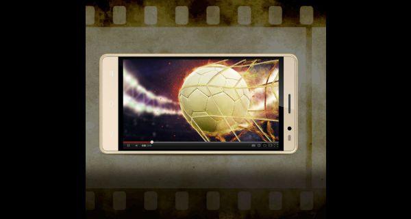 Intex Aqua Power HD 4G Front View