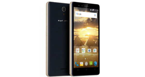 Karbonn Aura Power Front and Back