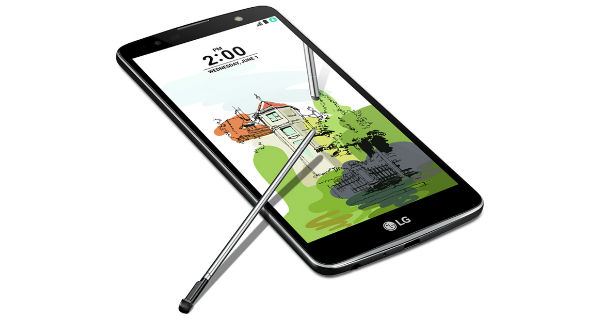 LG Stylus 2 Plus Upper View