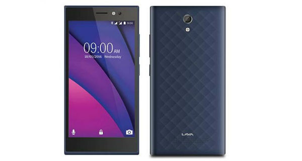 Lava X38 Front and Back