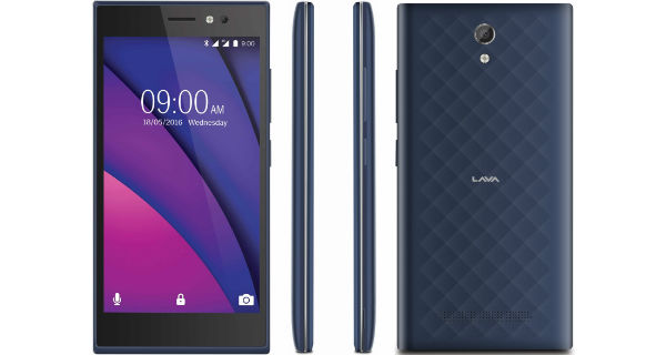 Lava X38 with 4000mah battery, Marshmallow 6.0 launched in India at Rs. 7399