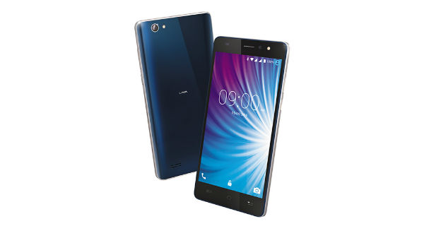 Lava X50 Front and Back