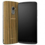 Lenovo Vibe K4 Note Wooden Edition Front and Back