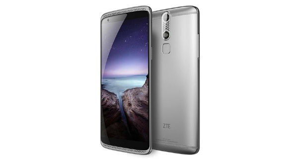 ZTE Axon Mini Front and Back
