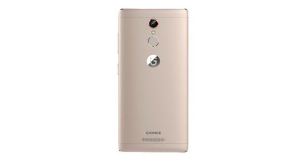 Gionee S6s Back