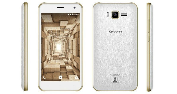 Karbonn Titanium 3D Plex running Marshmallow OS launched in India at Rs. 3799