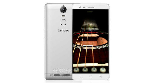 Lenovo Vibe K5 Note Front and Back