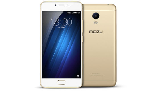 Meizu m3s Front and Back