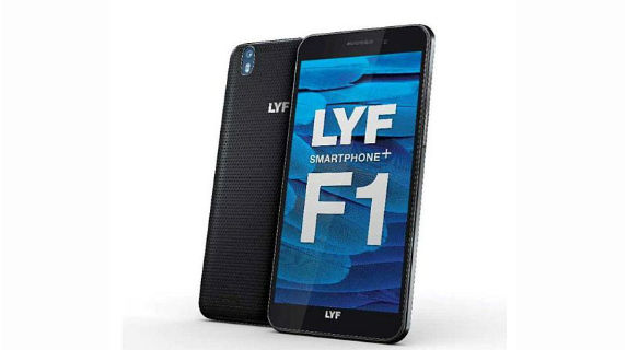 Lyf F1 plus with full HD display, 3GB RAM can be yours at Rs. 13,099
