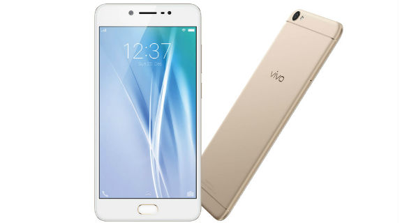 Vivo V5 Front and Back