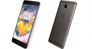 OnePlus 3T Front and Back