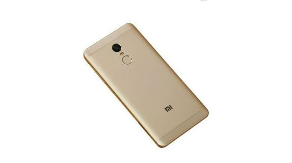 Xiaomi Redmi Note 4 back