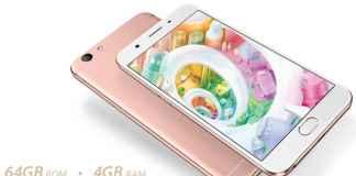 Oppo F1s Rose Gold image