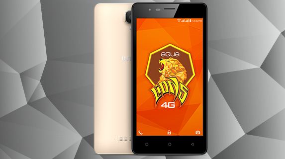 Intex Aqua Lions 4G with VoLTE, Android Marshmallow launched for Rs 5499