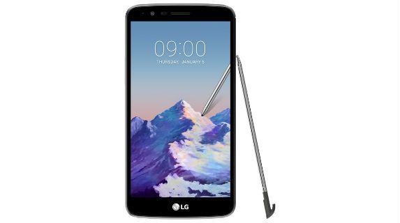 LG Stylus 3 front