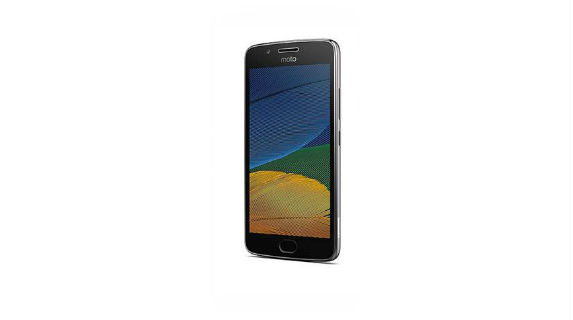 Motorola Moto G5 Plus front