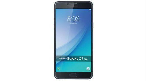 Samsung Galaxy C7 Pro front